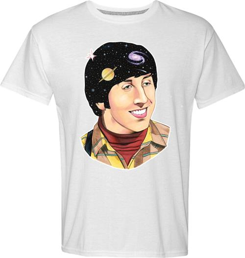 Big Bang Theory T-shirt Howard Art