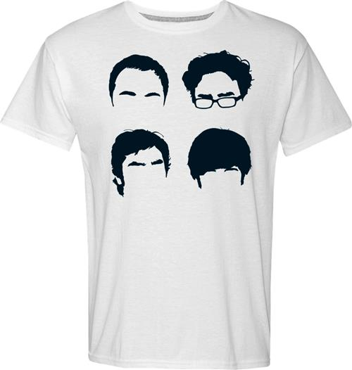 Big Bang Theory T-shirt Faces