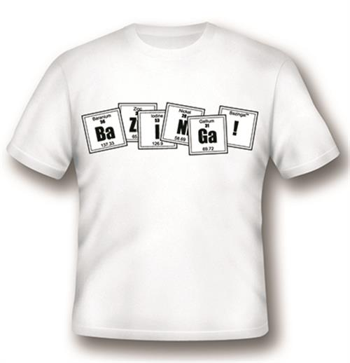 Big Bang Theory T-shirt Formula White