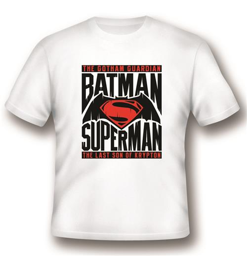 Batman vs Superman T-shirt Logo