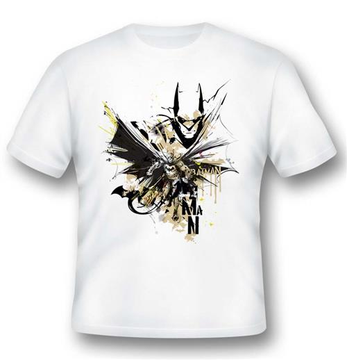 Batman T-shirt Illustration