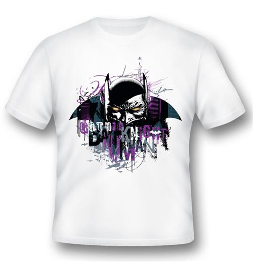 Batman T-shirt Gothic Knight