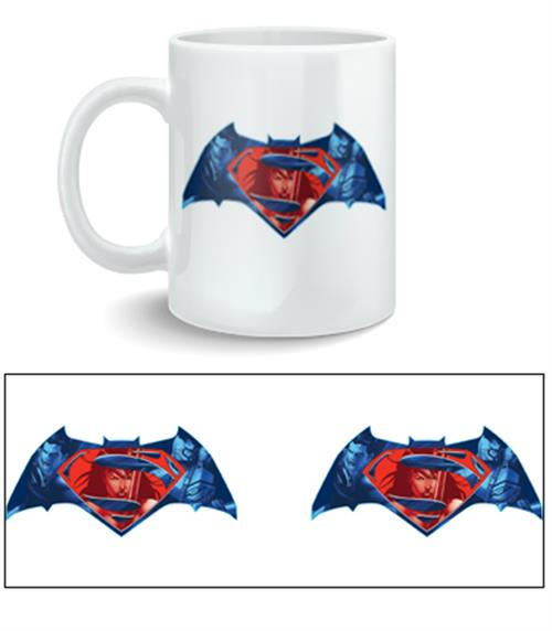 Batman vs Superman Mug Logo