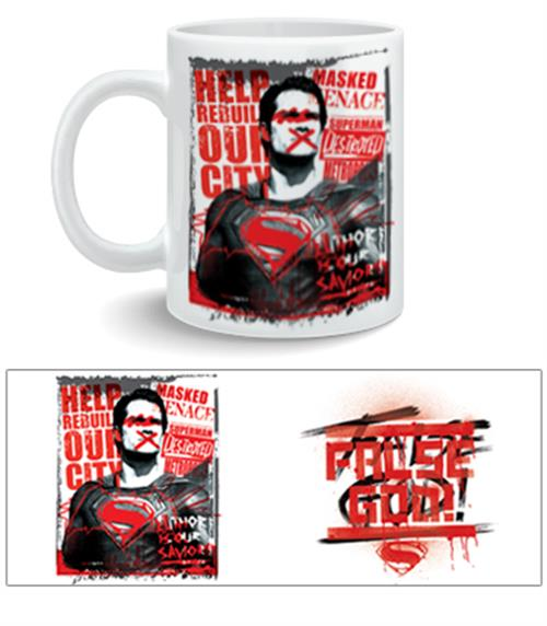 Batman vs Superman Mug False God