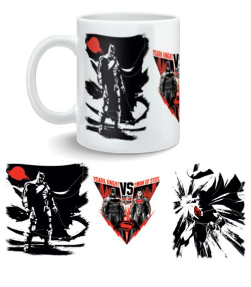 Batman vs Superman Mug Battle For Gotham