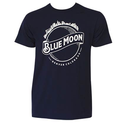 BLUE MOON Skyline Tee Shirt