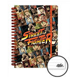 Street Fighter Notepad 236178