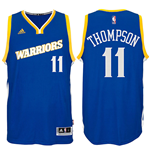Men's Golden State Warriors Klay Thompson adidas Crossover Royal Swingman Alternate Jersey