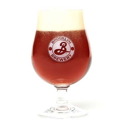 BROOKLYN BREWERY Snifter Glass