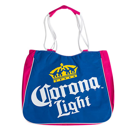 Corona Light Insulated Pink Tote Bag