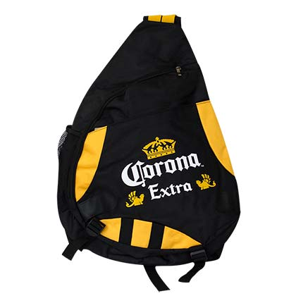 CORONA EXTRA Black Sling Backpack