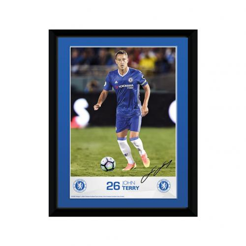 Chelsea F.C. Picture Terry 8 x 6