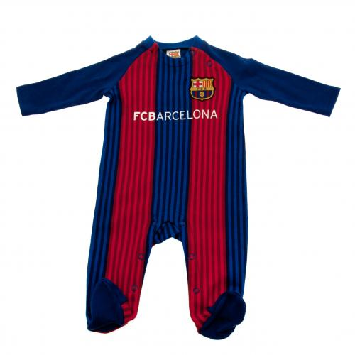 F.C. Barcelona Sleepsuit 3/6 mths VS
