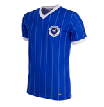 St. Johnstone 1982/83 Short Sleeve Retro Football Shirt 100% polyester