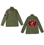 The Rolling Stones Jacket  - Army Utilitarian Tongue