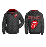 The Rolling Stones Windbreaker - Aop Tongue Patterned Zip