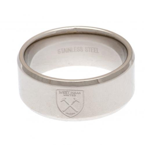 West Ham United F.C. Band Ring Small