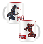 Captain America Civil War Mug Duel