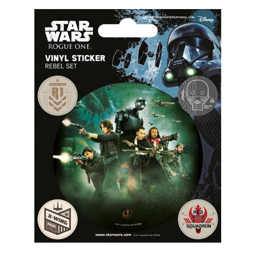 Star Wars Rogue One Stickers Rebel