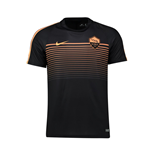 2016-2017 AS Roma Nike Training Shirt (Black-Peach)