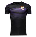 2016-2017 Galatasaray Nike Training Shirt (Black-Hyper Grape)