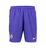 2016-2017 Man City Third Nike Football Shorts (Purple)