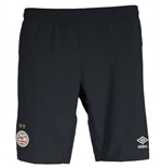 2016-2017 PSV Eindhoven Away Football Shorts (Black)