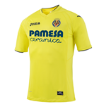 2016-2017 Villarreal Joma Home Football Shirt (Kids)