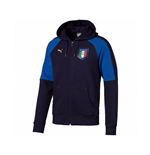 Italy 2006 Tribute Zip Through Hoody (Peacot-Blue)