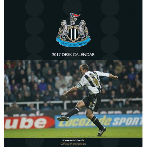 Newcastle United F.C. Desktop Calendar 2017