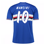 2016-17 Sampdoria Home Shirt (Mancini 10)