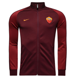 2016-2017 AS Roma Nike Authentic N98 Jacket (Night Maroon) - Kids
