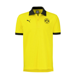 2016-2017 Borussia Dortmund Puma Badge Polo Shirt (Yellow)