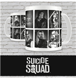 Suicide Squad Mug Characters