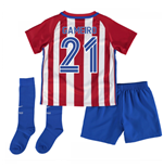 2016-17 Atletico Madrid Home Baby Kit (Gameiro 21)