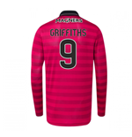 2016-17 Celtic Long Sleeve Third Shirt (Griffiths 9)
