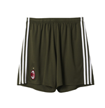 2016-2017 AC Milan Adidas Third Shorts (Green)