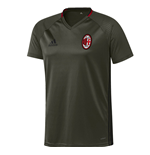 2016-2017 AC Milan Adidas Training Jersey (Night Cargo)