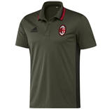 2016-2017 AC Milan Adidas Training Polo Shirt (Night Cargo)