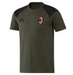 2016-2017 AC Milan Adidas Training Tee (Night Cargo)
