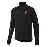2016-2017 AC Milan Adidas Training Top (Black)