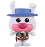 Hanna-Barbera POP! Animation Vinyl Figure Ricochet Rabbit (Flocked) 9 cm