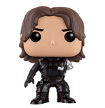 Captain America Civil War POP! Vinyl Bobble-Head Winter Soldier (No Arm) 10 cm