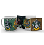 Harry Potter Mug with Coaster Slytherin
