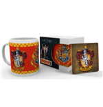 Harry Potter Mug with Coaster Gryffindor