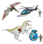 Jurassic World Vehicles with Figures 2015 Wave 1 Assortment (3)
