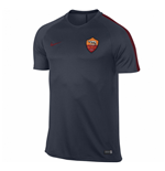 2016-2017 AS Roma Nike Training Shirt (Obsidian)
