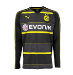 2016-2017 Borussia Dortmund Away Long Sleeve Puma Shirt