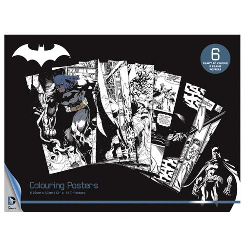 Batman Colouring Poster Pack