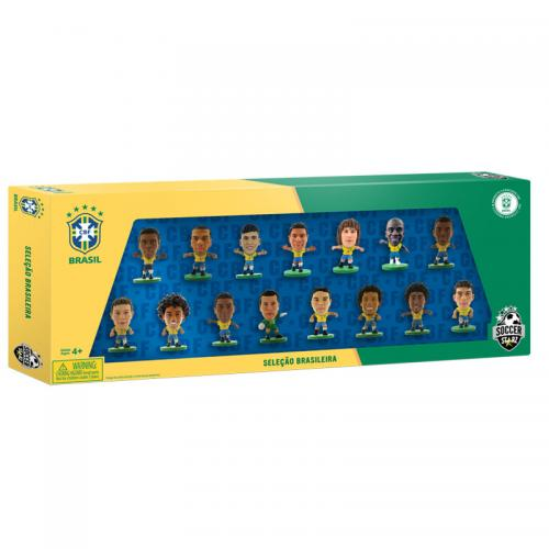 Brasil SoccerStarz 15 Player Team Pack A